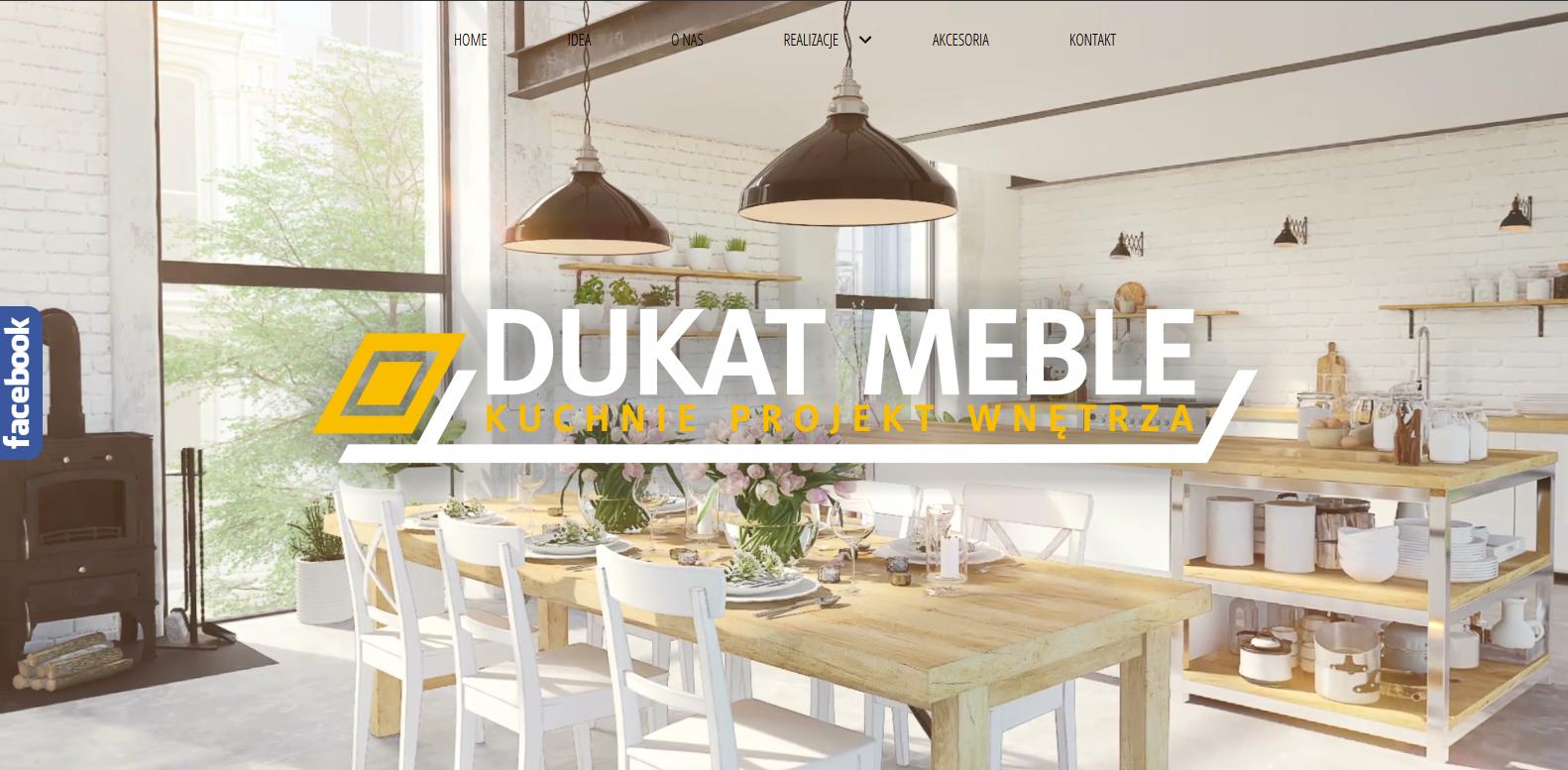 Strona WWW Dukat Meble