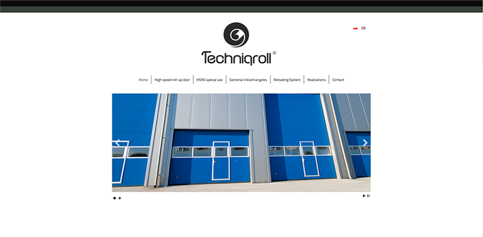 Strona WWW Techniqroll
